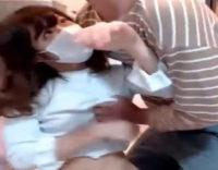 「まっ!待って落ち着いてぇ!!! (。>0<。)」来訪男子を挑発してたら半レイプされちゃう娘!|ライブチャット動画