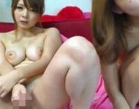 [無修正ライブチャット]素人チャットギャルのスーパーWオマンコクパァ&オナニータイム突入!